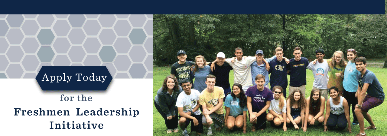 Apply for Freshmen Leadership Initiative!